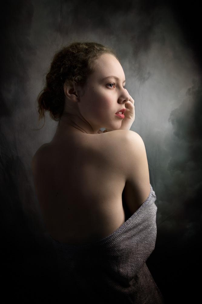 Studio portret fotografie Eindhoven, Peter Bos, 2016_DONKER